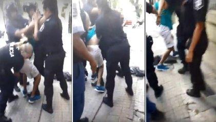 Presos por filmar la violencia policial