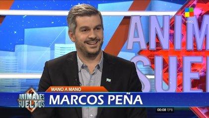 """Marcos Peña sobre Luis Caputo: """"Lo recontra banco"""""""