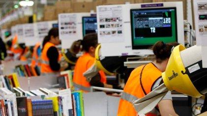 Trabajadores de Amazon en Madrid: a la huelga contra la precariedad