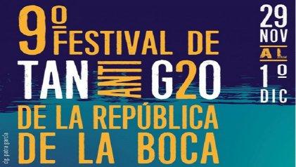 Comienza el Festival de Tango Anti G20 De La Boca