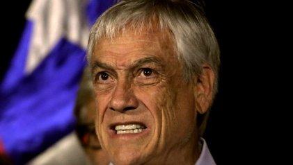 La popularidad de Piñera sigue cayendo en picada