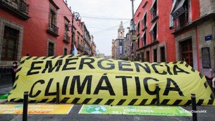 Activistas y organizaciones se unen a la huelga mundial por el clima en México
