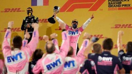 Checo Pérez en la cima de su carrera: gana en Bahrein