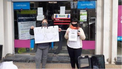 Confluyen caravana docente y Barrio Obrero para mostrar sus reclamos