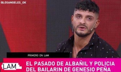 """De policía a bailarín en Tinelli: """"Teníamos el trabajo de infiltrarnos en las manifestaciones"""""""