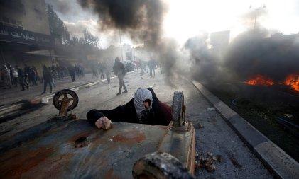 El Ejército israelí reprime manifestaciones de palestinos contra la decisión de Trump