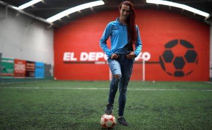 """Mara Gómez lucha por jugar en el torneo femenino: """"Gracias al fútbol pude superar la exclusión"""""""
