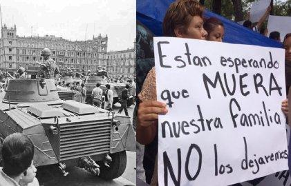 De la masacre de Tlatelolco a la tragedia de los sismos de septiembre