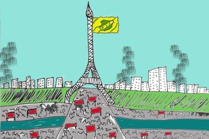 """Y así los insurrectos parisinos avanzaron al grito de """"soy Varela"""" …"""