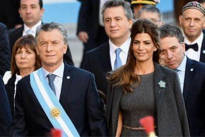 Macri participó del Tedeum con el Ejército en una Plaza de Mayo vallada