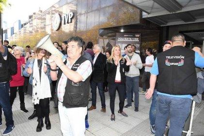 Trabajadores de la TV Pública denuncian persecución