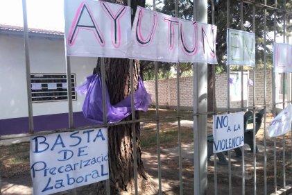 Trabajadores de Ayutún denuncian maltrato por parte de las autoridades