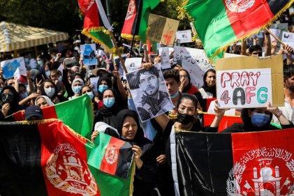 Segundo día de protestas en Afganistán contra el régimen Talibán