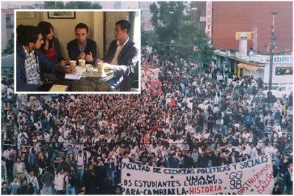 Dos protagonistas de la huelga de la UNAM hablan del proceso