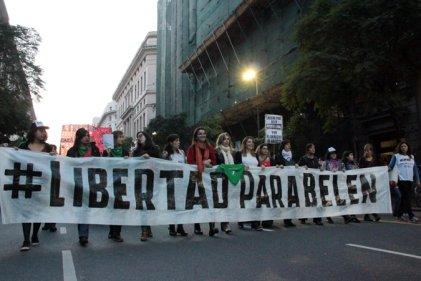 Trabajadoras y trabajadores exigen #LibertadParaBelén