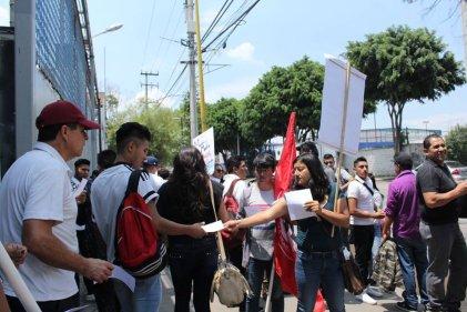 México: se realiza mitin en solidaridad con las y los trabajadores de PepsiCo