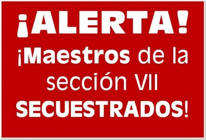 Grupo paramilitar secuestra a maestros en Chiapas