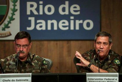"""La intervención militar en Río de Janeiro """"es un laboratorio para Brasil"""""""