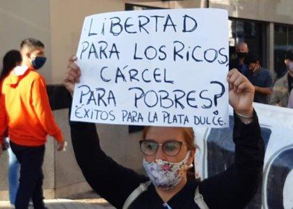 Familiares se movilizaron exigiendo justicia por los crímenes del empresario Matías Piattonni