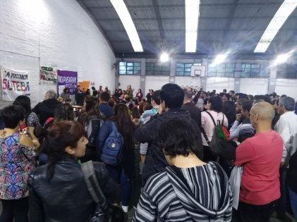 Ramos Mejía: docentes y estudiantes de educación superior definen plan de lucha
