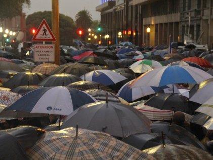 ¿Qué muestra la multitud silenciosa que marchó contra el Gobierno?