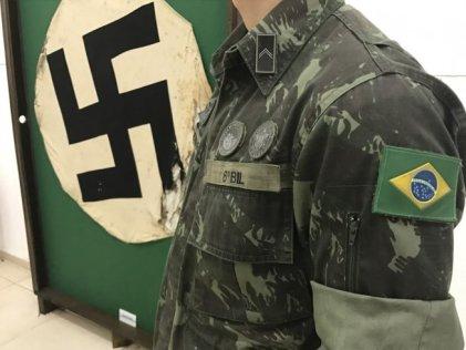 El ejercito brasileño homenajea a un nazi