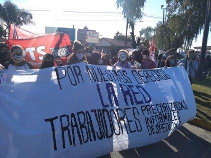 Zona sur: La red de precarizados sale a la calle por #TrabajoConDerechosParaTodxs
