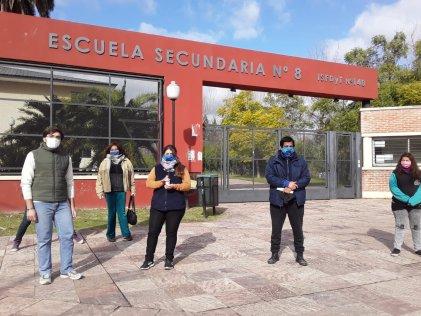 Estudiantes y docentes del ISFD y T 140 de Tigre se organizan frente a la crisis