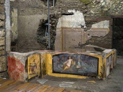 Descubren tienda de comida callejera en la antigua ciudad de Pompeya