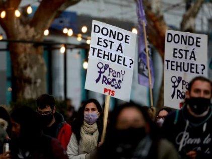 5 meses sin Tehuel: El Frente de Izquierda se movilizó por su aparición con vida