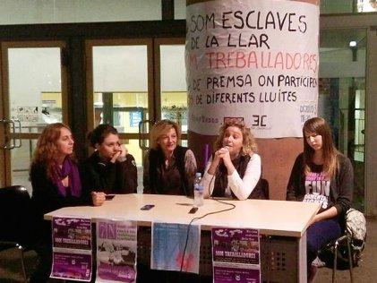 Rueda de prensa: mujeres trabajadoras organizadas contra la precariedad y el acoso laboral