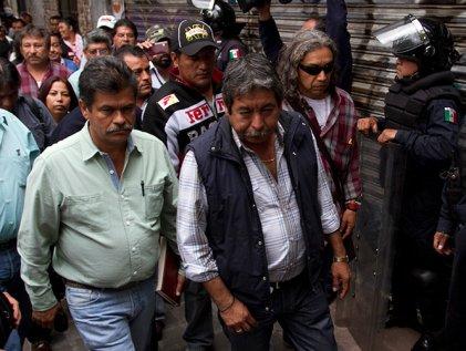 ¿Sección 22 y Morena van juntos en las elecciones en Oaxaca?