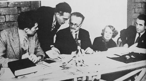 """Los días de la """"Comisión Dewey"""" en la Casa Azul de Frida Kahlo"""