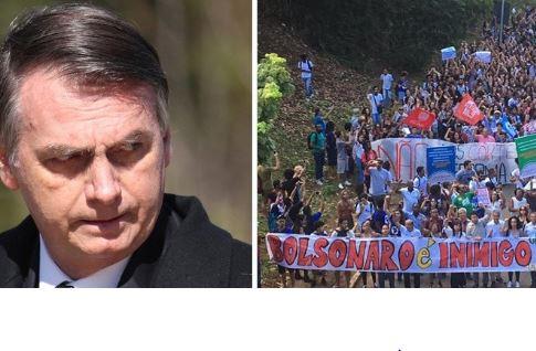 Paro Nacional en Brasil, Lucha Docente en Chile