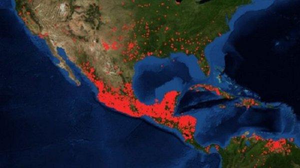Suman 144 incendios forestales en México, 74 aún activos: así lucen desde el aire