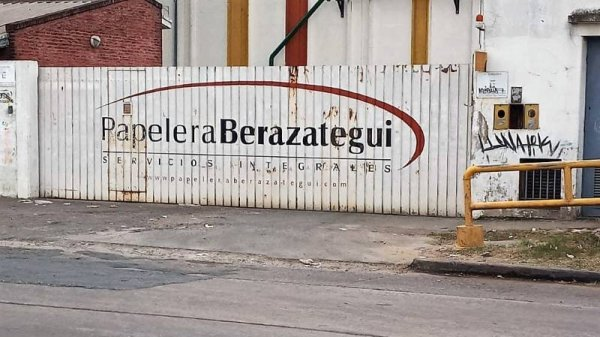 Falleció un trabajador en la Papelera Berazategui