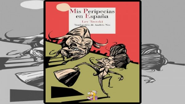 Postales de Trotsky en España