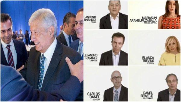 Los empresarios ante López Obrador: de la desconfianza al apoyo