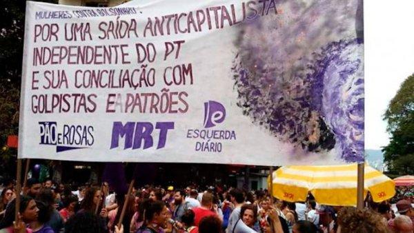 El MRT de Brasil llama a un voto crítico por el candidato presidencial del PSOL