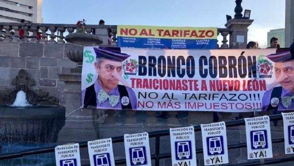 Gobierno de Nuevo León detiene activistas contra aumento al transporte público