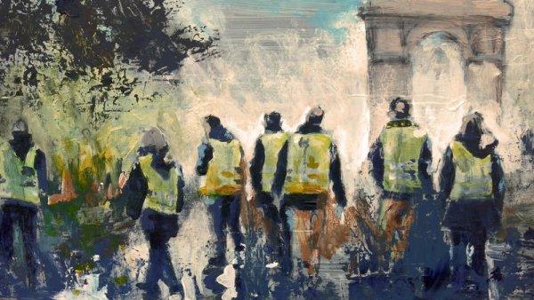 Más de 300 intelectuales franceses denuncian la violencia de Estado contra los chalecos amarillos