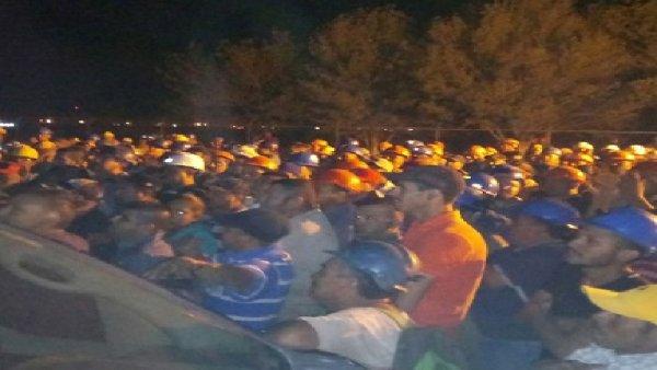 Estalla huelga de mineros en el corporativo Altos Hornos de México