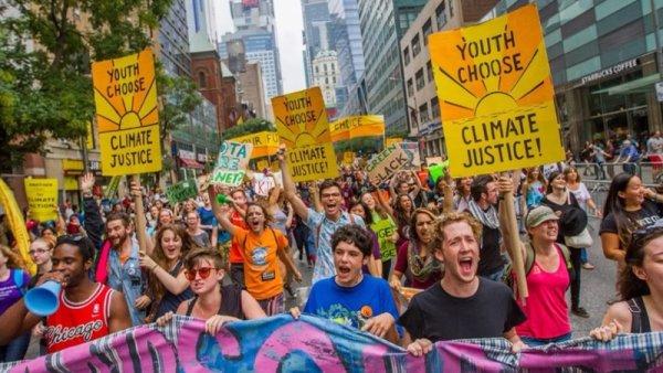 Según encuesta, a los millennials lo que más les preocupa es el cambio climático
