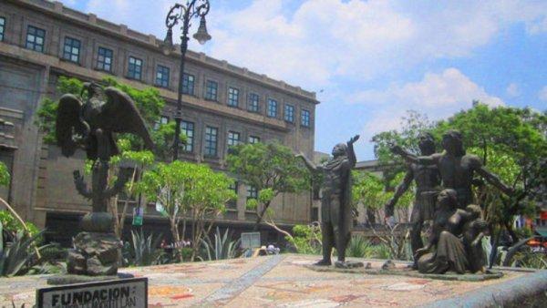 La fundación de México-Tenochtitlán