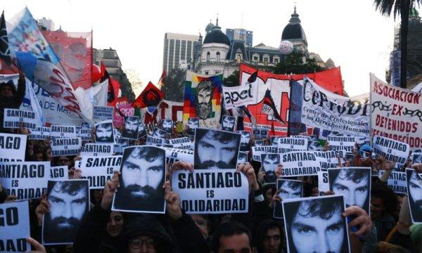 [Video] En Plaza de Mayo miles exigieron Justicia por Santiago Maldonado