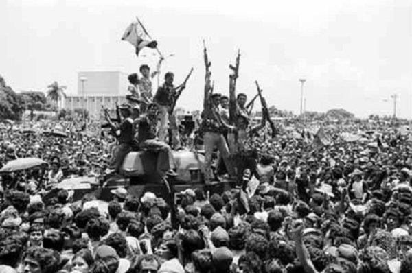 Revolución nicaragüense: las masas insurreccionadas hicieron historia