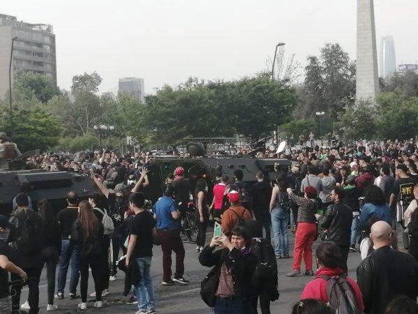 Rebelión popular en el Chile heredado de la dictadura